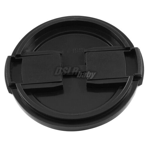 10PCS Universal 49mm Snap on Camera Front Lens Cap Protector for DSLR Filter f