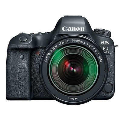 Used, Canon EOS 6D Mark II Full Frame 26.2MP DSLR Camera with EF 24-105mm STM Lens for sale  Shipping to India