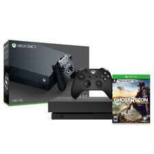Xbox One X 1TB Console with Tom Clancy