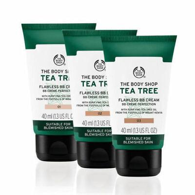 1 BN The Body Shop Tea Tree Flawless BB Cream Perfection BB Cream 02 Medium 40ml