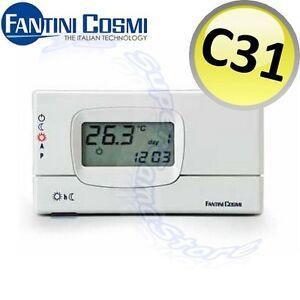 3S-CRONOTERMOSTATO-C31-FANTINI-e-COSMI-DIGITALE-PROGRAMMABILE-SETTIMANALE-NUOVO