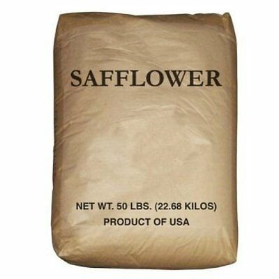 Safflower Seed Wild Best Bird Food Perfect to Diverisfy Seed Offerings - 50 lbs
