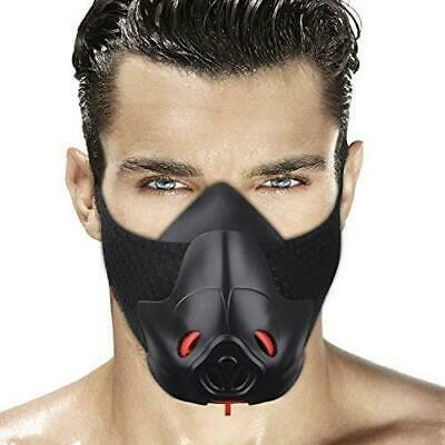 Gym Workout Mask Training Cardio Hypoxic Breathable Fitness Running Exercises