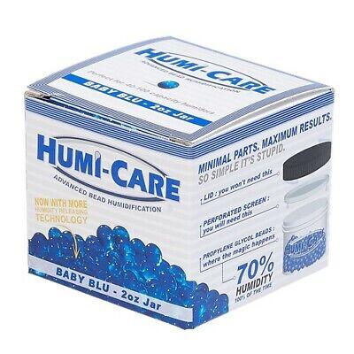 Humi-Care 2oz Bead Gel Humidifier Jar  Cigar Humidor - New - Propylene Glycol