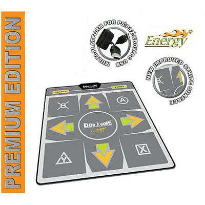 DDR Energy Premium Edition Dance Pad for PS2 Xbox PC (Premium Edition Dance Pad)