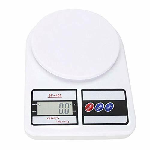 Digital Kitchen Scale 22lb/0.04 ounce 10KG/1G Slim Electroni