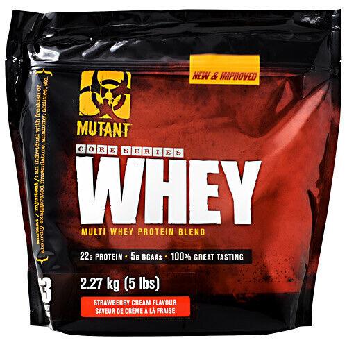Mutant WHEY PROTEIN Multi Powder Blend - 5 lbs  STRAWBERRY C