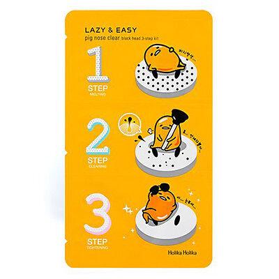 [Holika Holika] Pig Nose Clear Black Head 3-step Kit 1ea - Korea Cosmetics