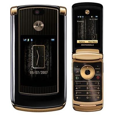 $86.00 - Luxury Edition Motorola MOTORAZR2 V8 2GB Gold (T-Mobile) Cellular Phone GSM  USA