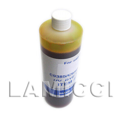 Yellow Pint refill ink for CISS HP10 HP82 cartridge HP 500 800 815mfp printer, used for sale  Shipping to India