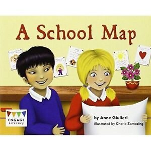 A School Map (Engage Literacy Green),Giulieri, Anne,Excellent Book mon0000113084