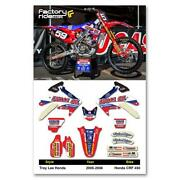 05 CRF 450 Graphics