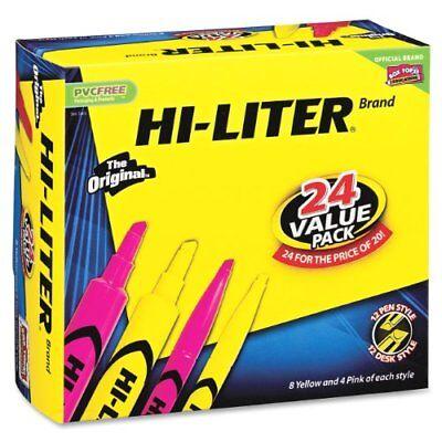 Avery Hi-lighter Marker Combo Pack - Chisel Marker Point Type - Point Marker