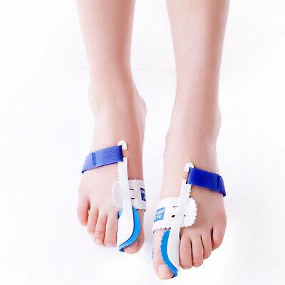 2X Orthopedic Toe Big Bone Tool Bunion Care Corrector Braces Strap Hallux Valgus