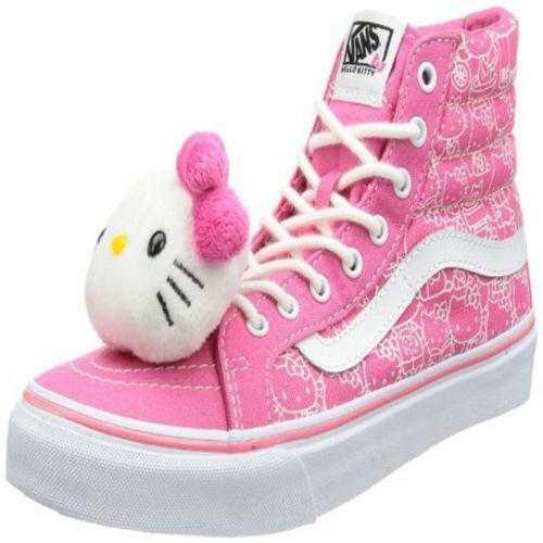 8712823948b Hello Kitty Vans Shoes