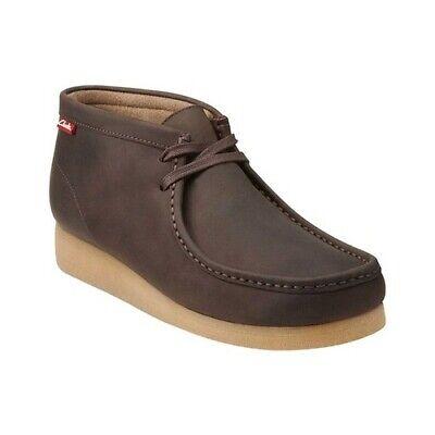 Clarks Men's   Stinson Hi Moc Toe Boot