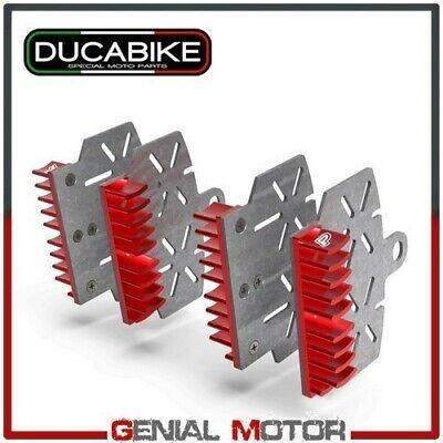 Brake Plate Heat Sink Red BPR04A Ducabike Monster 821 Stripes 2015 > 2017