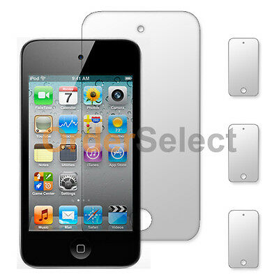 3X New Clear LCD Screen Shield Guard Protector for Apple iPod Touch 4 4th Gen