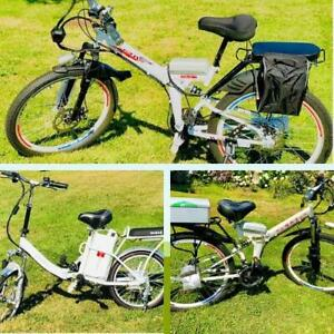 Weekly Promo! NEW High Quality Folding  ebike, electric bike, long range more than 100km, starting from $1499