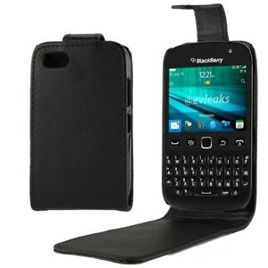 Vertical Flip Leather Case for BlackBerry 9720