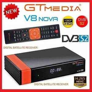 V8 NOVA:HD DVB-S2 Satellite Receiver H.265 For Ku and C band Dish Mays Hill Parramatta Area Preview