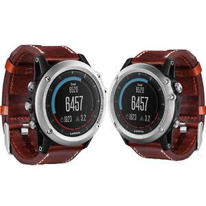 Garmin-Fenix-3-Sapphire-Multisport-GPS-Watch-Silver-Leather