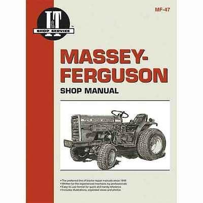 It Shop Manual For Massey Ferguson Mf1010 Std. Hydro Mf1020 Std. Hydro