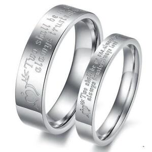 personalized couples rings - Wedding Rings Ebay