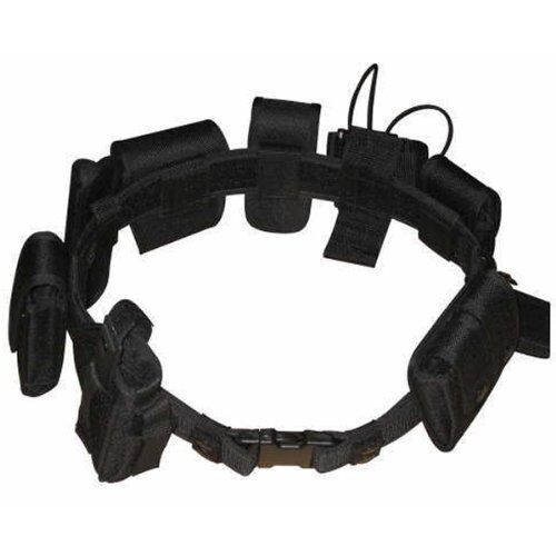 Versatile Police Security Tactical Duty Belt Set w/ Gun Flashlight Baton Holster