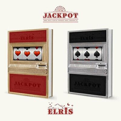 ELRIS [JACKPOT] Mini Album 2 Ver SET+2p POSTER+2Book+2Lenticular+56Card+2Sticker