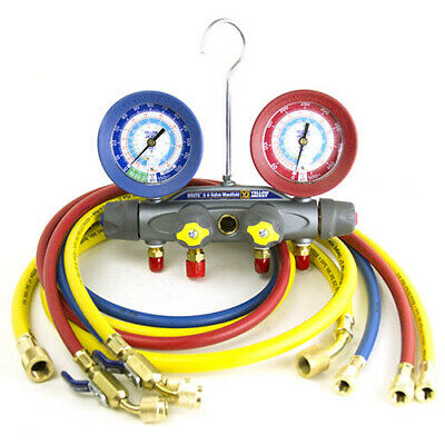 Yellow Jacket 46043 Brute Ii Test Charge Manifoldfc Rb Gauge