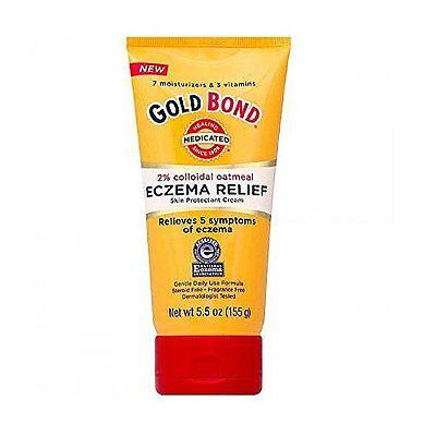 Gold Bond Healing Medicated Eczema Relief Skin Protectant Cream 5.5 oz