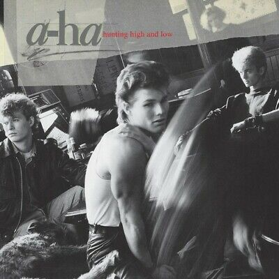 A-HA Hunting High And Low   New Clear Vinyl