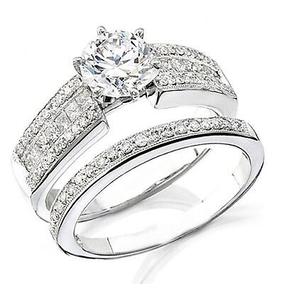 2.86 Ct.Round Brilliant Cut Diamond Engagement Ring GIA