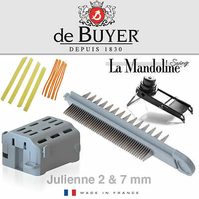 de Buyer - La Mandoline Swing - Julienne Klinge 2/7 mm De Buyer Mandoline