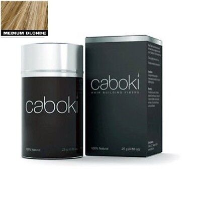Caboki Medium Blonde Color Hair Building Fiber,Hair Loss Concealer old version for sale  Shipping to India