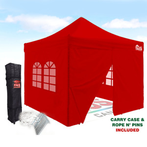 pop up canopy with walls  10*10  for  $400