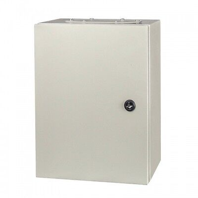 Electric wall mount Enclosure  IP65 Metal All Sizes Available + Mounting Plate Mount Wall Plate