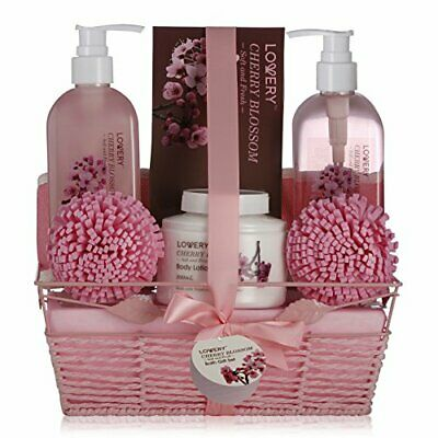 Bestselling SPA Gift Set for Women With Cherry Blossom Fragrance (Set of