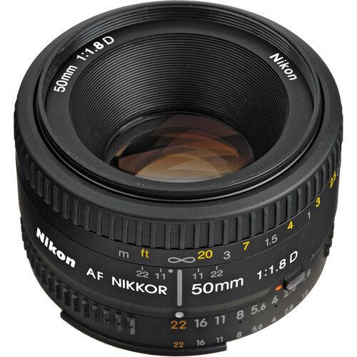 Nikon 50mm f/1.8D Autofocus Nikkor Lens for Nikon DSLR Camer