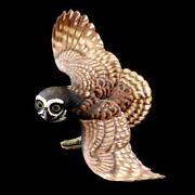 Franklin Mint Owl