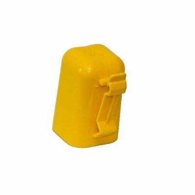 Fi-Shock ITCPY-FS T-Post Safety Cap and Insulator, Yellow ( Pack of 10 )