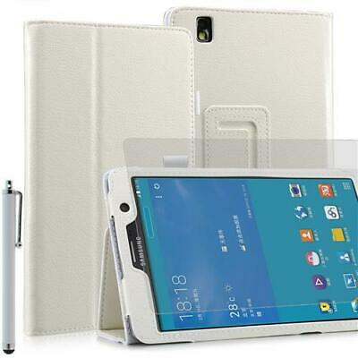 Plegable Funda Tablet para Samsung Galaxy Note pro T320 Blanco 7