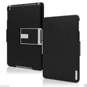 Incipio Apple iPad Air Black Flagship Folio Cover Case+Kickstand