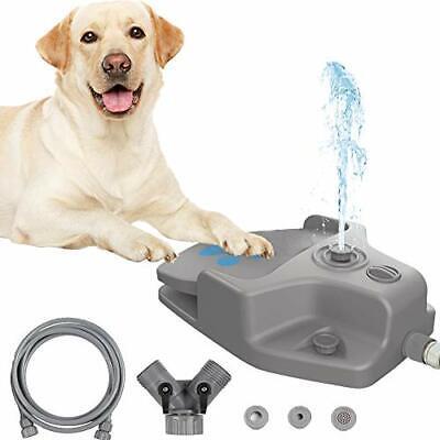 Juguete del aspersor del perro del paso de la fuente de agua del perro mascot...
