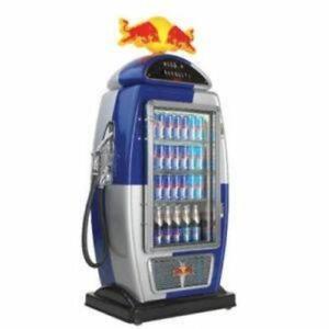 Pompe essence refrigerateur RedBull Gas pump fridge