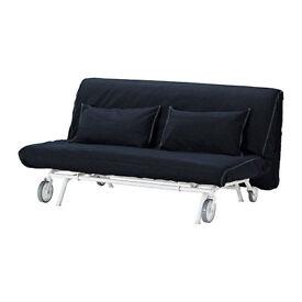 Sofa-Bed IKEA PS LÖVÅS with Vansta dark blue cover