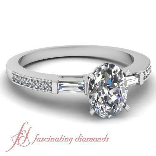 Oval Diamond Ring Setting