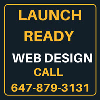 Launch Ready Website Design and Development Services in Brampton
