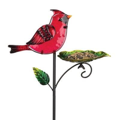 Regal Bird Feeder Stake - (Cardinal Bird Feeder Stake)